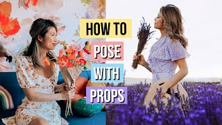 How to Pose and Take BETTER Pictures with Props! Aesthetic Instagram Ideas