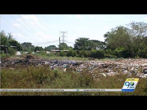 Habitantes de Jamundí denuncian que basurero en lote baldío afecta su salud