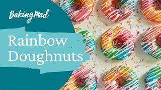 How to make rainbow doughnuts