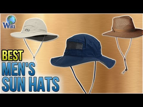 10 Best Men's Sun Hats 2018
