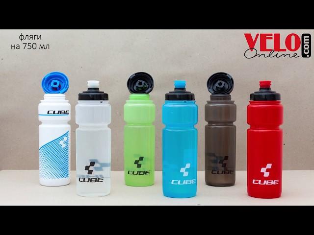 Видео Фляга пластиковая Giant CLASSIC LIMPID 600 мл