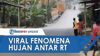 Viral Video Hujan Lokal Antar-RT, Sering Terjadi di Indonesia hingga Disebut Sebagai Batas Hujan