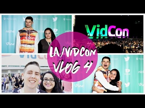 VIDCON VARIETY SHOW W/ FLULA, THOMAS SANDERS, JON COZART + ... | VIDCON 2016 [VLOG 4]