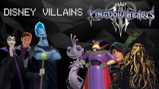 Kingdom Hearts 3 - Confirmed Disney VILLAINS and Predictions