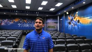 Memphis Football: Team Meeting Room And Recruiting Lounge Tour