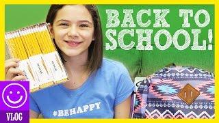 BACK TO SCHOOL SHOPPING! HAULS!  SUPPLIES & CLOTHES!     KITTIESMAMA