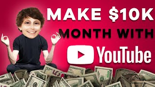 How to Make Money on YouTube Without Making Videos (Weird Niche)
