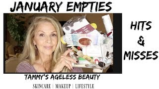 January Empties | HITS & FAILS | #maturewomen