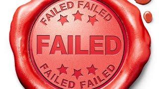 I FAILED on EVERYONE!