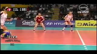 Italia x China 3set FIVB Women's Junior 2011