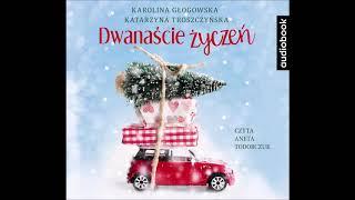 """Karolina Głogowska, Katarzyna Troszczyńska """"Dwanascie życzeń"""" audiobook. Czyta Aneta Todorczuk"""