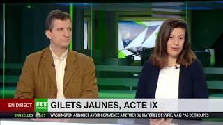 Serge Federbusch au journal télévisé de RT du 12 janvier 2019