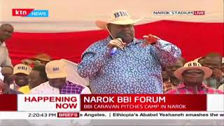 Governor Cyprian Awiti attends Narok BBI consultative forum,wants Maasai issues resolved