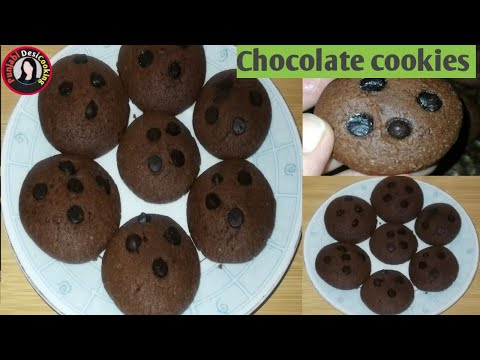 Choco Chip Cookies | Cookies Recipe Without Oven |Biscuit Recipe |punjabi desi cooking