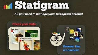 How to Manage Your Instagram Photos Online ( statigr.am )