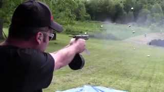 Full Auto Glock 17 With 50 Round Drum + Bonus HK MP5 And AK47