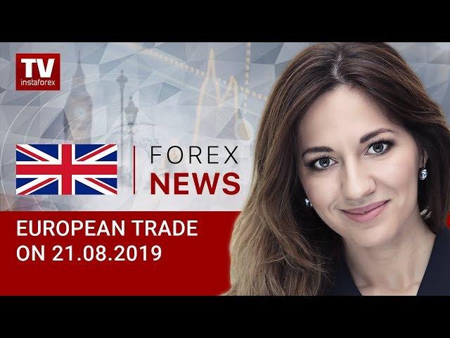 21.08.2019: EUR struggling for gains (EUR, USD, GBP, GOLD)