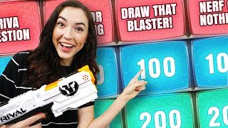 NERF Quiz Show | Double Down Challenge!