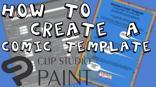 How to create a Comic Book Template in Clip Studio Paint