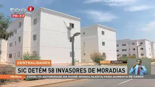 SIC detém 58 invasores de moradias