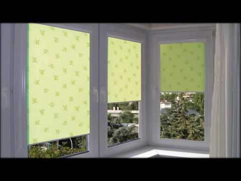 Рулонные шторы и жалюзи  Велик выбор по цветовой гамме и материалу