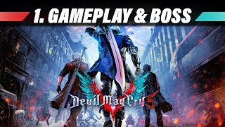 DEVIL MAY CRY 5 Demo | Xbox ONE X 4K Gameplay German | Lets Play 60FPS Deutsch