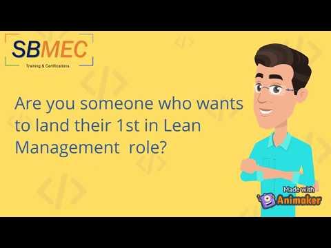 Lean Management Certification Course - SBMEC - YouTube