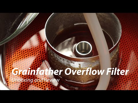 Grainfather Overflow Filter - Unboxing and Review
