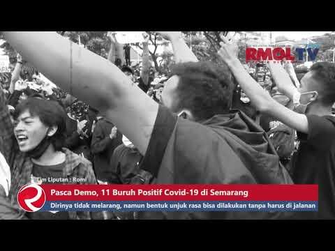 Pasca Demo, 11 Buruh Positif Covid 19 di Semarang