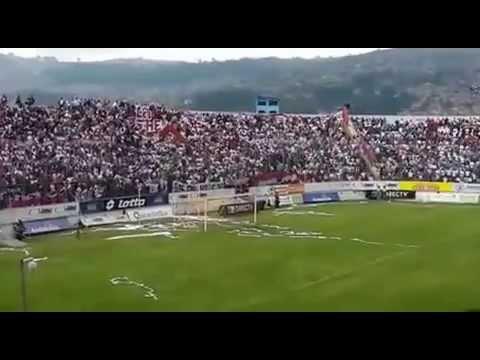 """LIGA vs aUcas recibimiento 2015"" Barra: Muerte Blanca • Club: LDU"