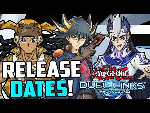 Yu-Gi-Oh! Duel Links] RELEASE DATES FOR 5DS & GX CHARACTERS! JACK