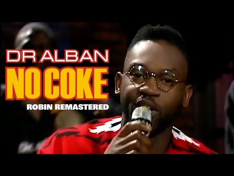 Dr Alban - No Coke (LIVE 1990) HD
