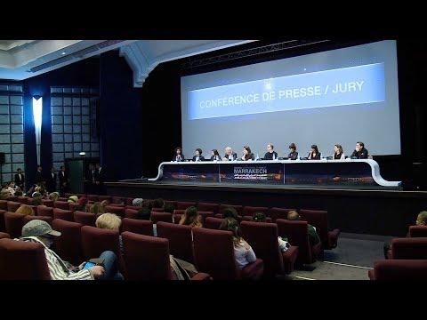 العرب اليوم - شاهد: ندوة صحافية مع لجنة تحكيم المهرجان الدولي للفيلم في مراكش