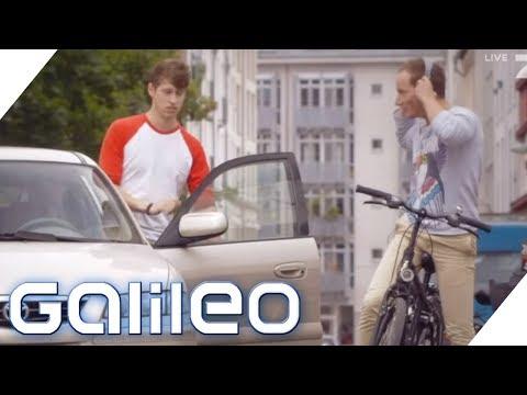 Darf ich beim Radfahren Musik hören? 5 Tipps für Fahrradfahrer   Galileo   ProSieben