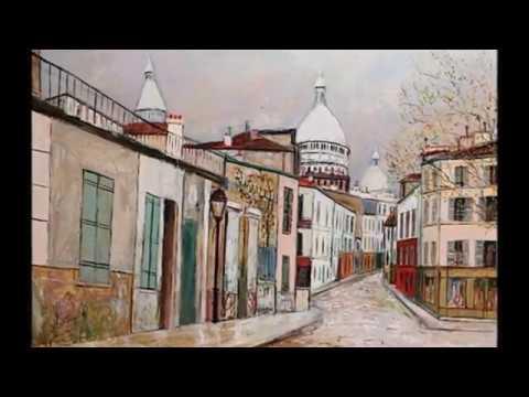 Maurice Utrillo le peintre de Montmartre Paris