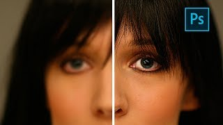 3 Ways to SHARPEN BLURRY PICTURES in Photoshop