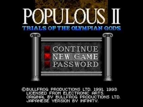 Populous Nintendo DS