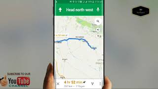 Get Best way on Driving by Google maps directions online ofline maps in Hindi Urdu