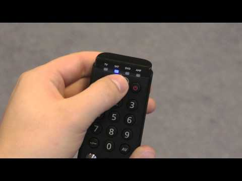 30 seconds to set up your remote