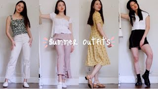 7 CASUAL Summer Outfits! 🍉changing Room Diaries