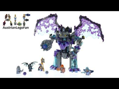 Vidéo LEGO Nexo Knights 70356 : Le Colosse de pierre de la destruction suprême
