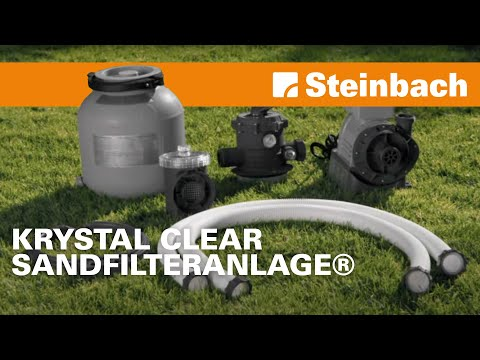 Krystal Clear Sandfilteranlage® SF80220 & SF70220 & SF60220