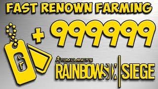 Rainbow Six Siege Renown Farming Strategy (FAST + EASY)