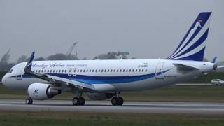 New A320 HIMALAYA AIRLINES returns after First Testflight (9N-ALW)