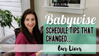 Babywise Schedule Tips that Changed Our Lives