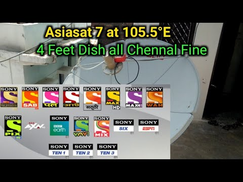 Download Asiasat 7 105 5 East Full Setting And Channel List Video