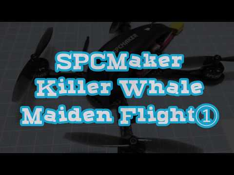 SPCMaker Killer Whale Maiden Flight①