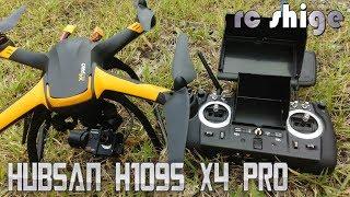 ドローン 空撮 Hubsan H109S X4 PRO GPS FPV DRONE with Hubsan original camera review