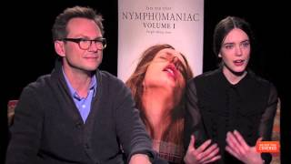 Nymphomaniac Interview With Stellan Skarsgard, Stacy Martin And More [HD]