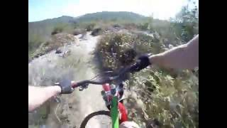 preview picture of video 'Crystal Cove State Park; Singletrackin El Moro'